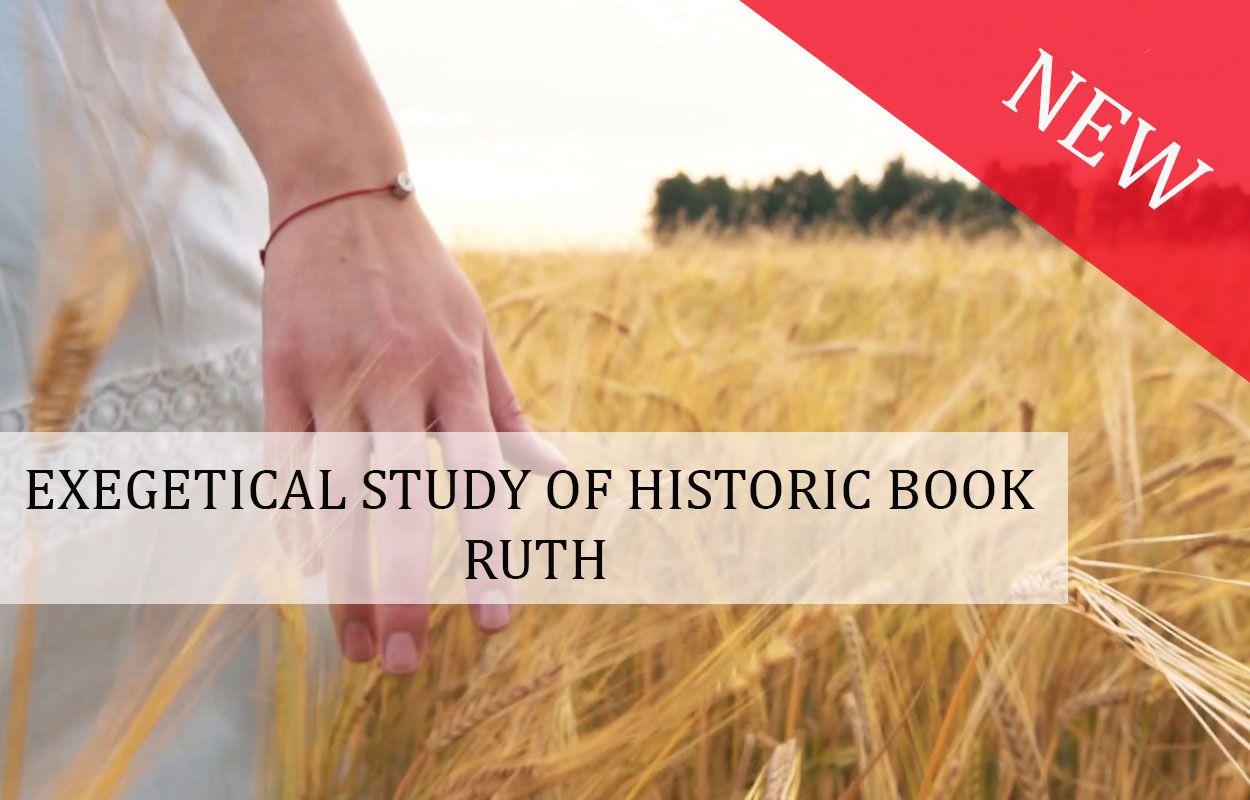 Exegetical study of historic book: Ruth