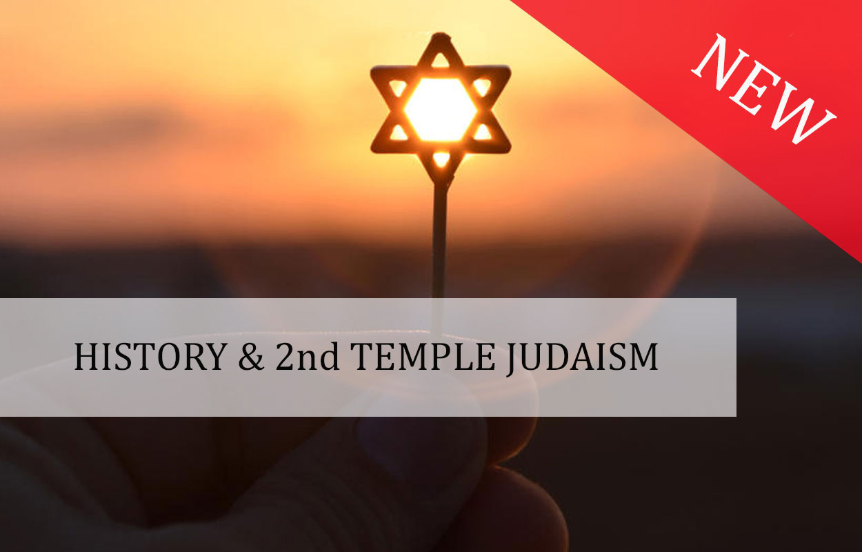 History & 2nd temple Judaism