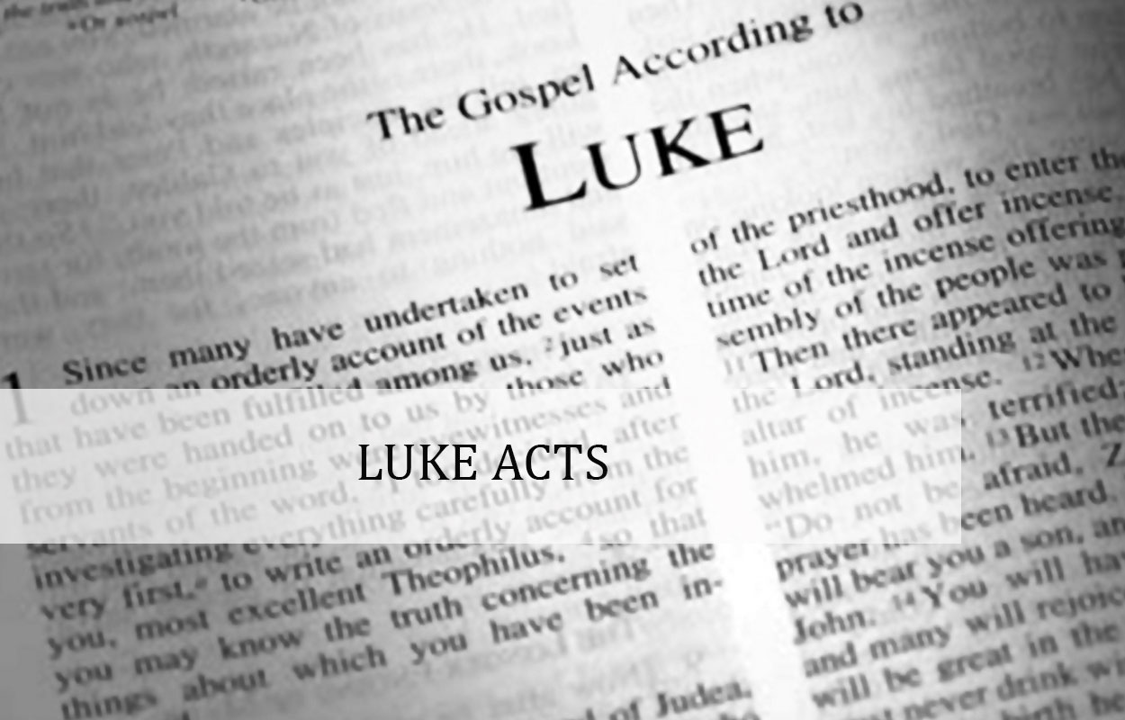 Theology of Luke Acts